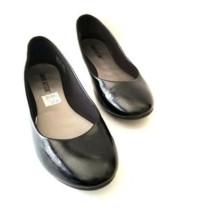 Black Patent Leather Flats Size 11